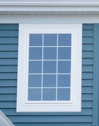 window casing, exterior picture frame with mitered joint ...