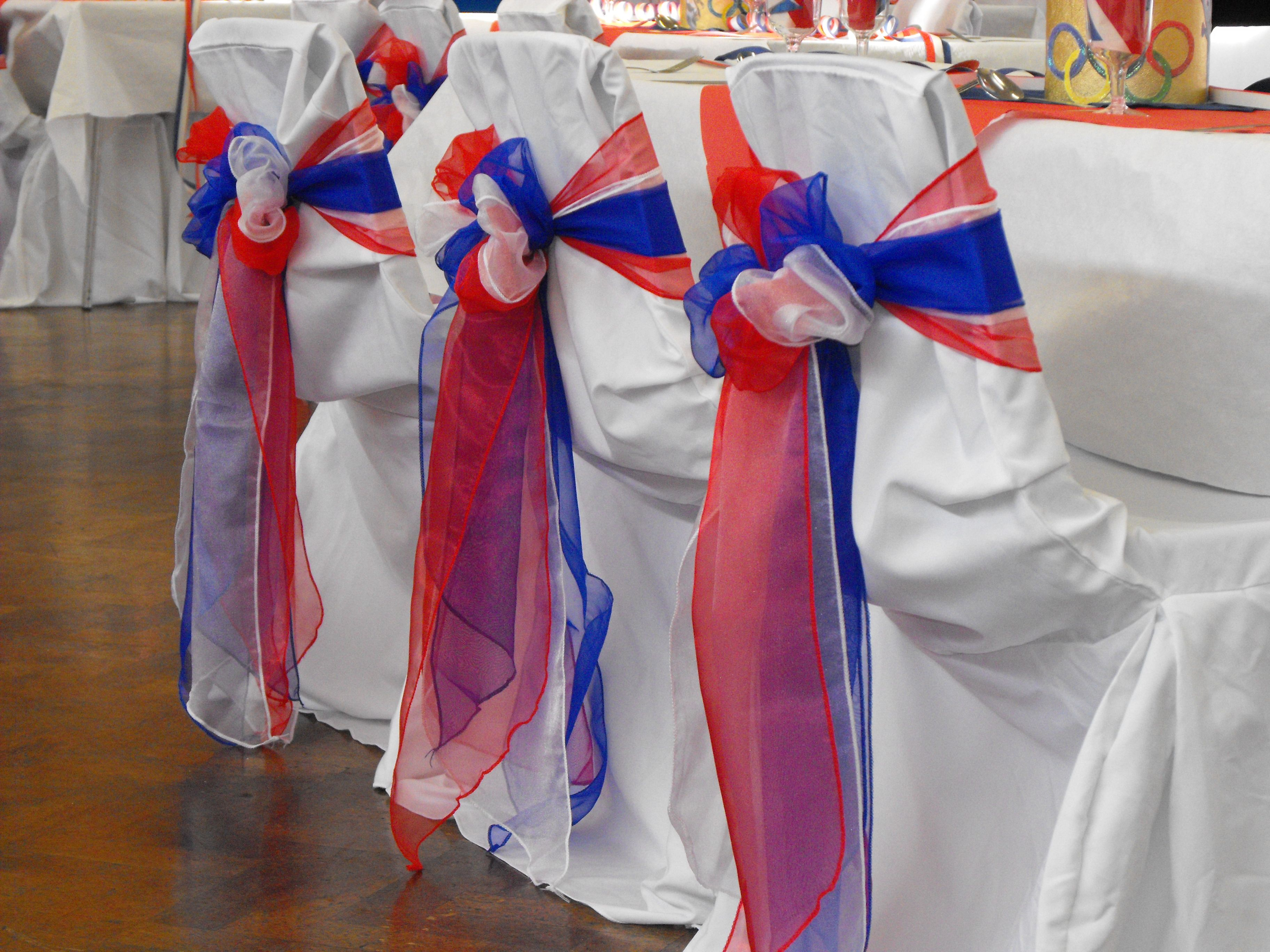 Chair Bow Organza Sashes Chair Wedding Party Bows 9 Quot X 10ft Purple