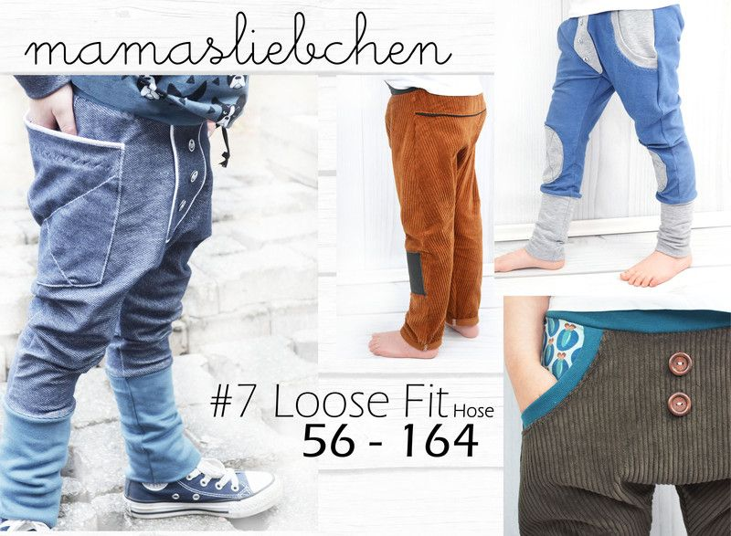 Dawanda Bettwaesche Ebook E-book #7 Loose Fit Hose Schnittmuster