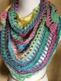 Handmade Crochet Summer Scarf / Shawl in 2015 Spring ...