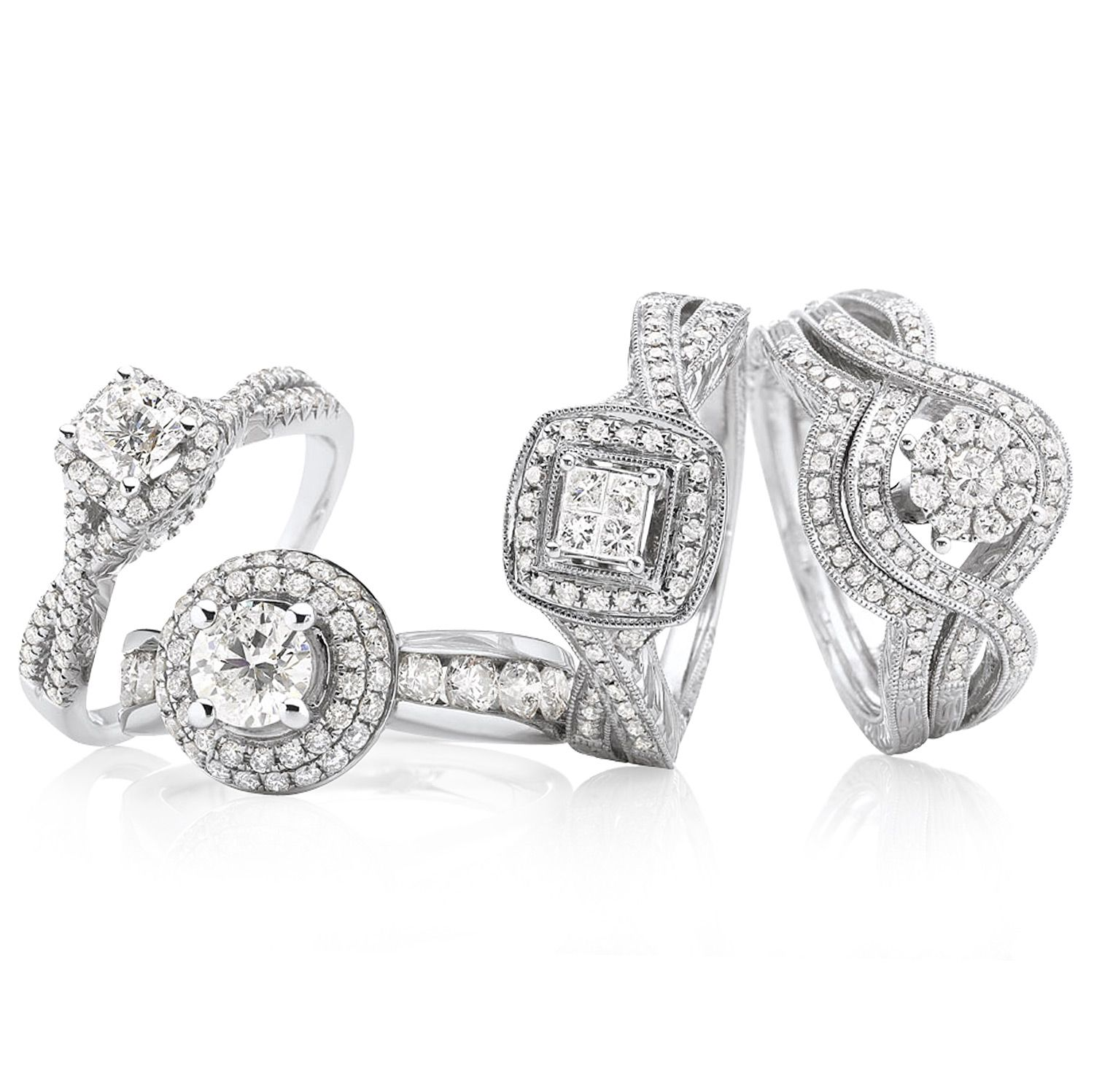 jcpenney jewelry wedding rings JCPenney put a ring on it modern bride true love and cherished hearts diamond ring collections