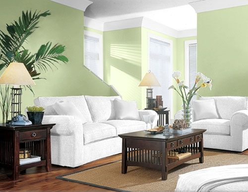 Foolproof Paint and Color Scheme Suggestions Green living rooms - green living rooms