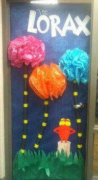 "Dr. Suess ""the lorax"" door decoration   Dr. Seuss Theme ..."