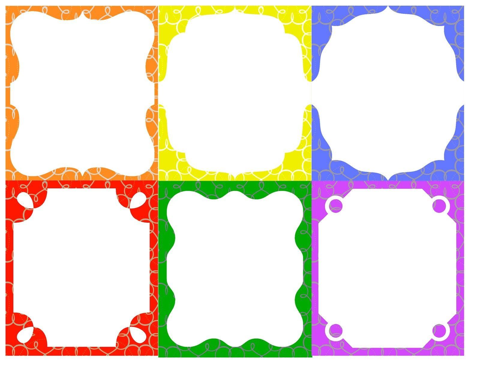 Printable Name Tag Templates For Kids Diy Gifts