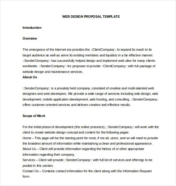 business proposal template free word pdf documents download sample - professional proposal template