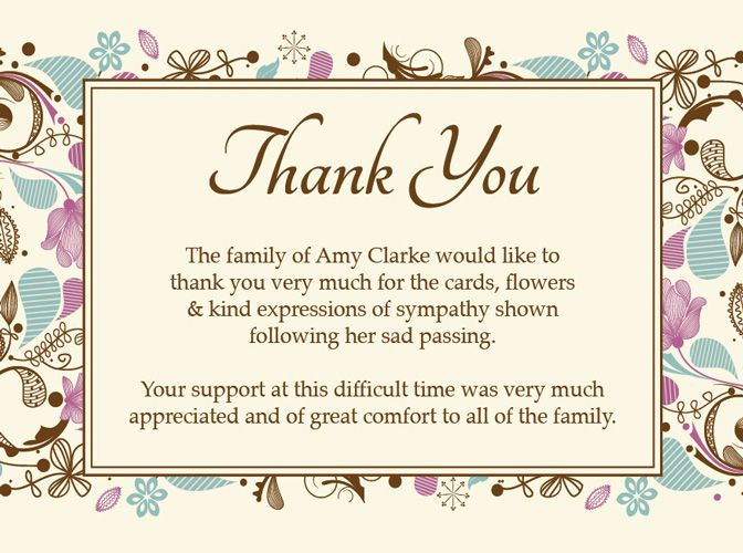 Let me create a custom sympathy thank you card for you The last - funeral thank you note