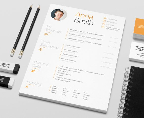 Creative Resume Microsoft Word Template Instant download - by - resume in microsoft word