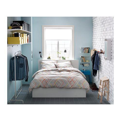 MALM Bettgestell mit Aufbewahrung, weiß Malm, Ikea und Ikea-Ideen - schlafzimmer mit malm bett 2