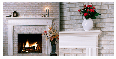 Brick Anew Treatment For Brick Fireplaces Home