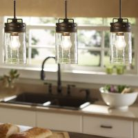 Industrial Farmhouse Glass Jar Pendant Light Pendant ...