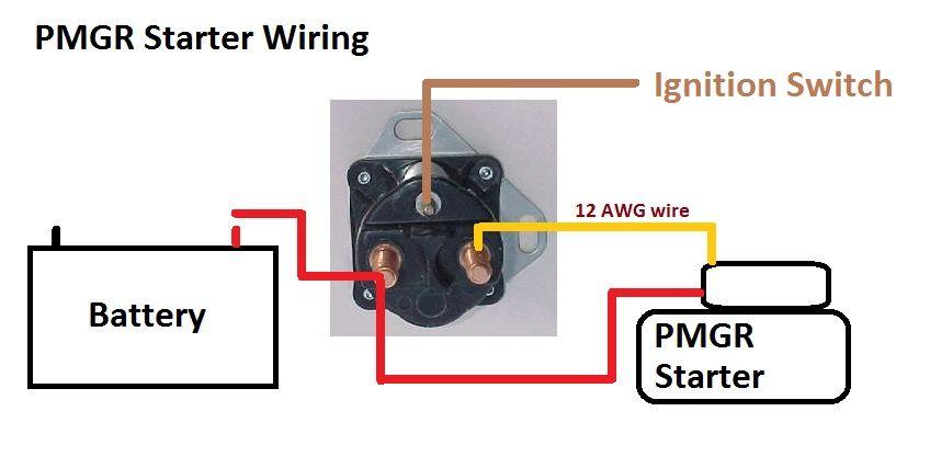 1989 mustang starter solenoid wiring diagram free picture