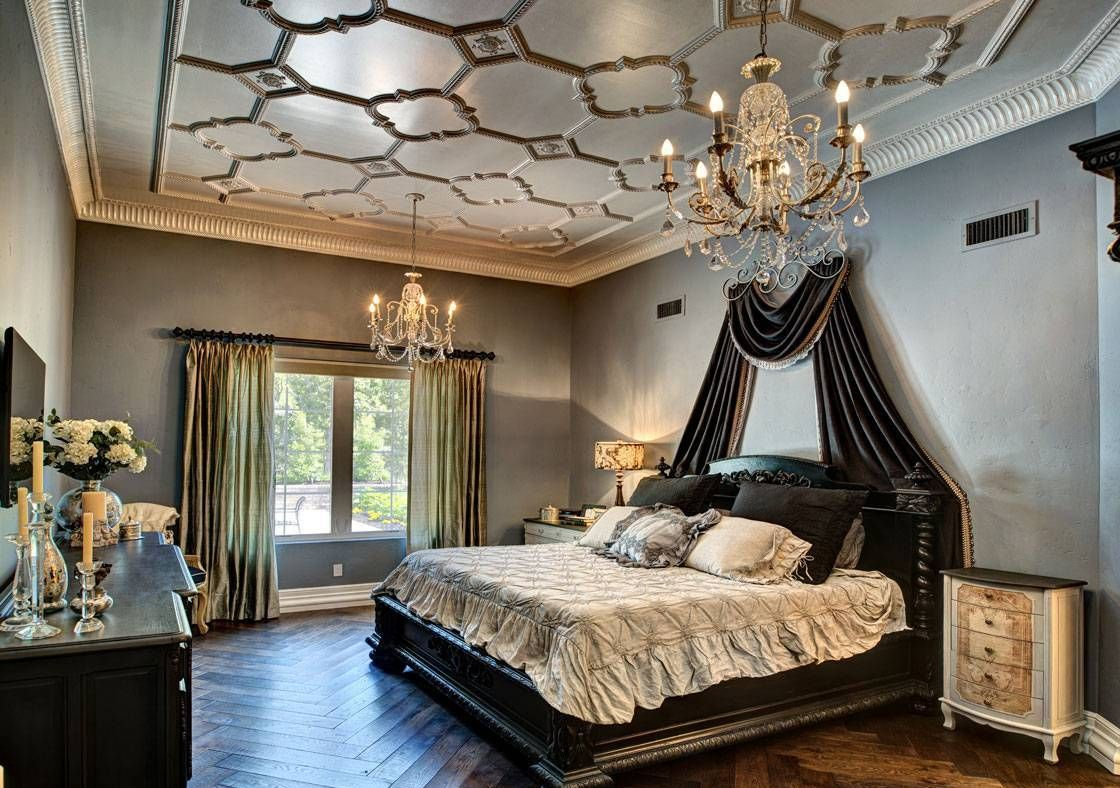 Bedroom chic master bedroom french style master bedroom french style with black bed with