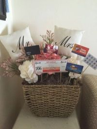 Gift cards make great fillers in baskets for the happy ...
