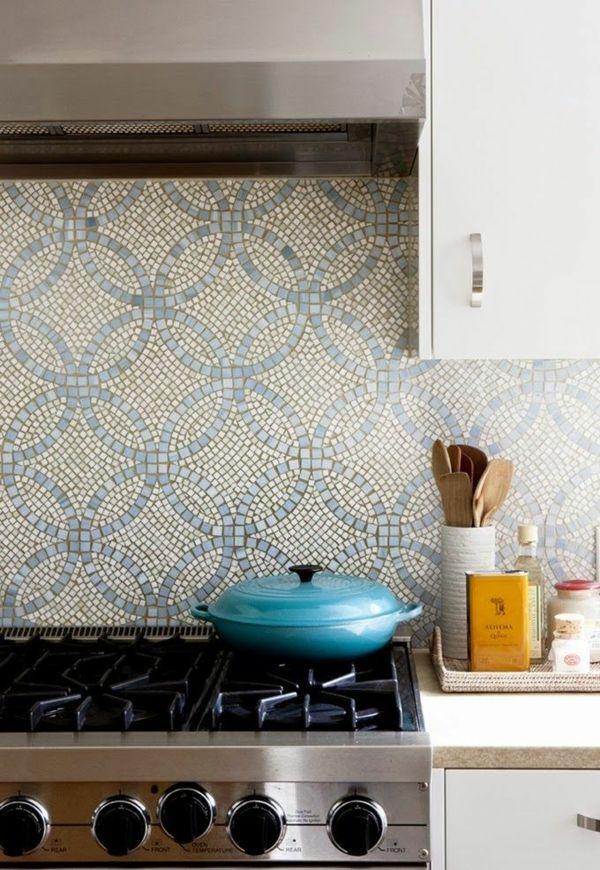 Außergewöhnlich Küchenrückwand Ideen Mosaikfliesen In Der Küche New Flat Kuchenruckwand  Gestalten Akzente Mit Metal Fliesen