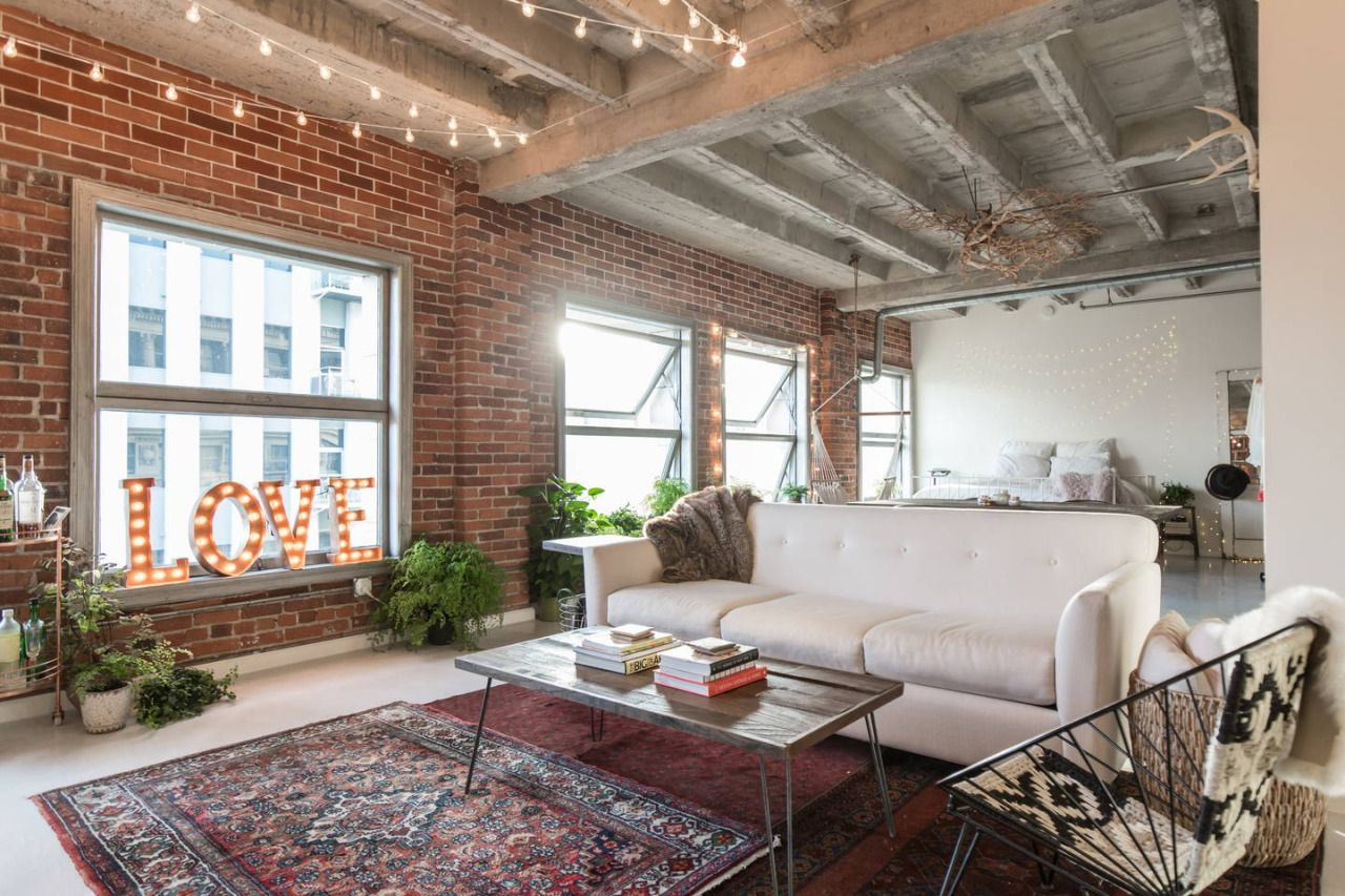 Apartments With Exposed Brick Los Angeles Loft With Exposed Brick Gravityhomeblog