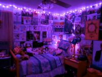 #Room #Rooms #Bedroom #Bedrooms #Purple #Lights #