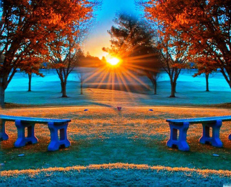 Golf Course Fall Season Wallpaper Pc Good Morning Images Pictures Good Morning Hd Wallpapers