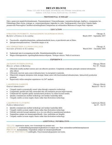 Out of the Box - Free Resume Template by Hloom Resume - resume template