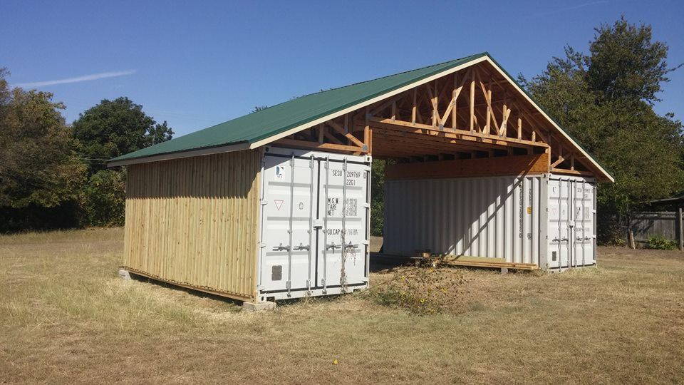 Container Roof & PodRoof Shipping Container Roof Kits; I