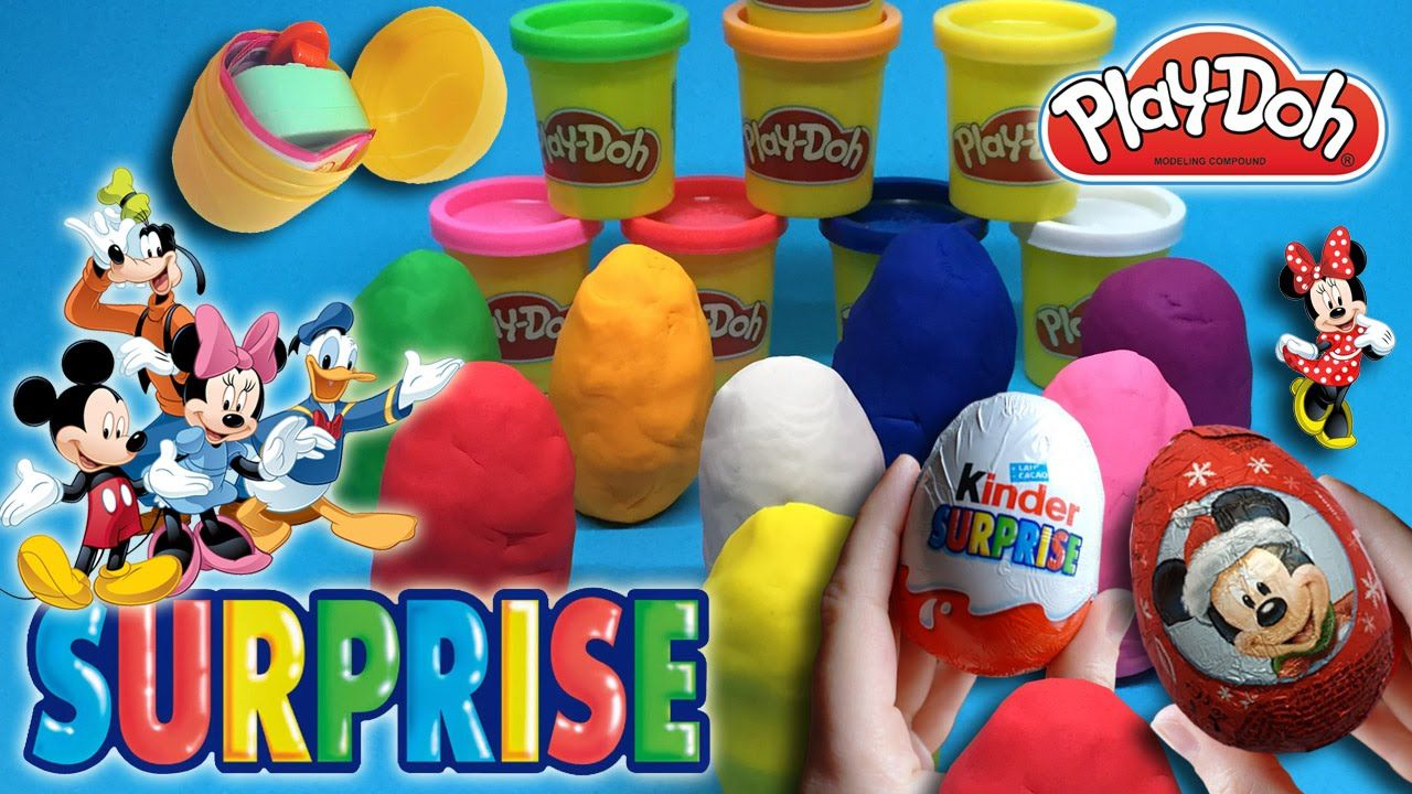 Play Doh Küche Youtube Play Doh Surprise Eggs Disney Toys Play Doh Pinterest Play Doh