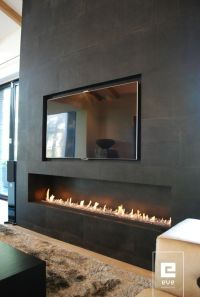 17+ Modern Fireplace Tile Ideas, Best Design | Modern ...