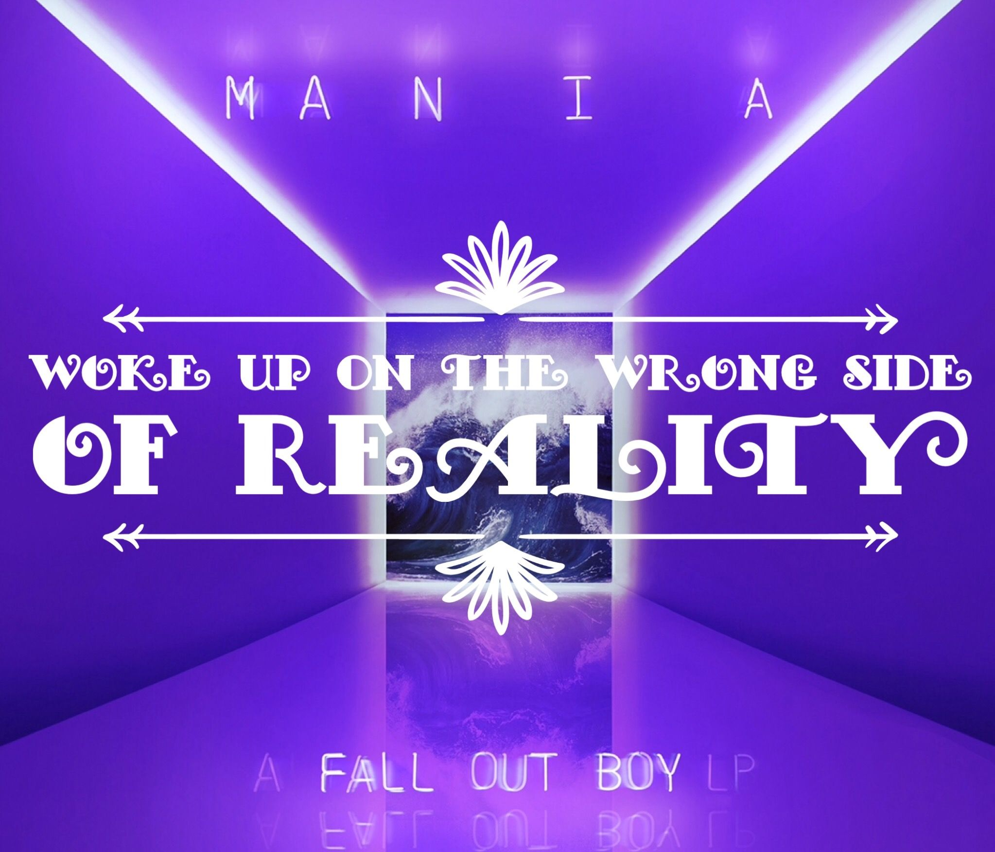 Fall Out Boy Mania Iphone Wallpaper Fall Out Boy Wallpaper Mania Wallpapersharee Com