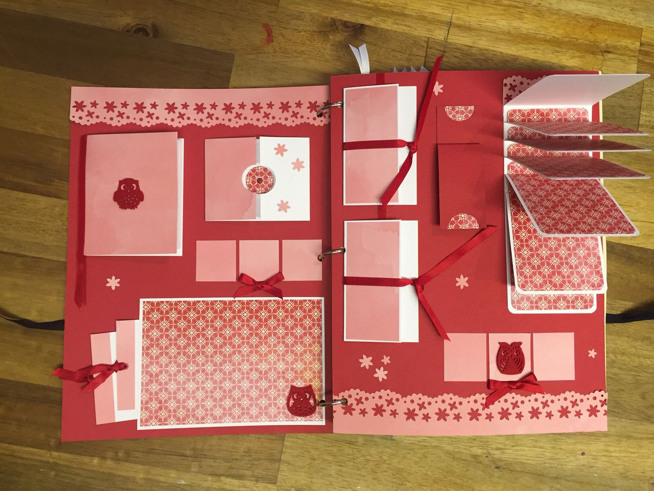 If you are looking for something completely different that you can creatively add to yourself than an interactive scrapbook is perfect for the job