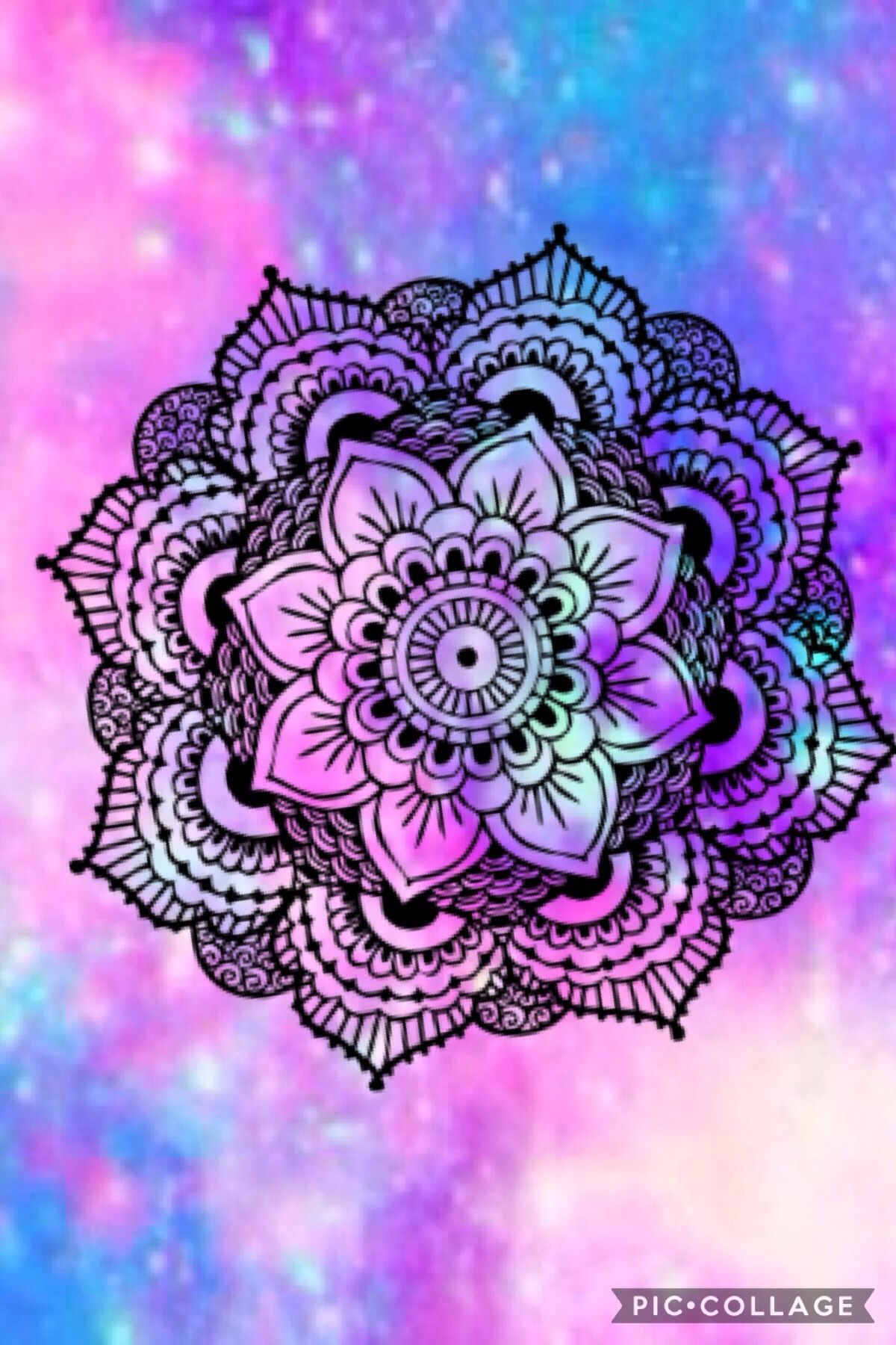 Cute Pink Owl Wallpaper For Iphone Manda La Hermosa Lipi Pinterest Mandala Wallpaper