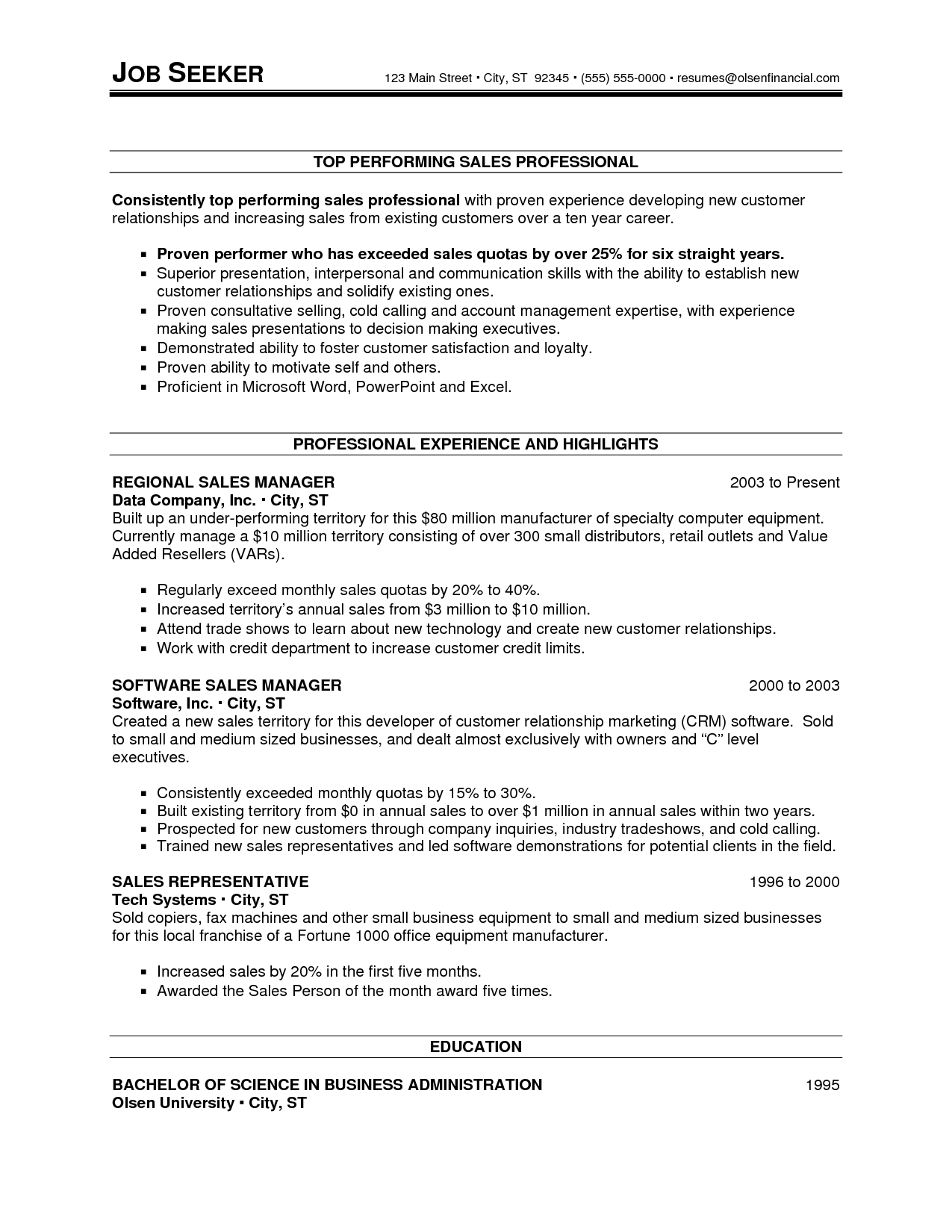 sle resume for computer science in india