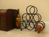 Reclaimed bicycle chain wine rack. | Bikes, Spaces ...