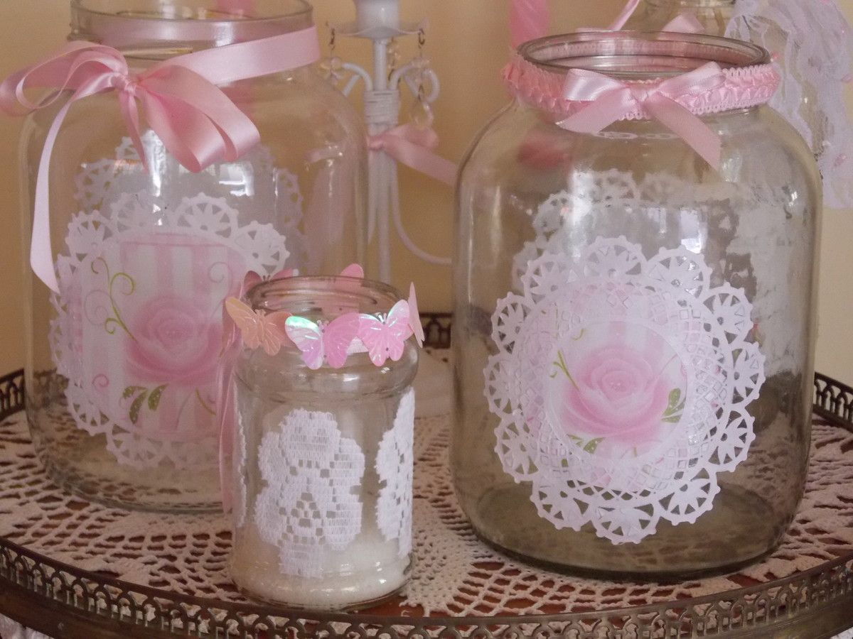 Comprar Botellas Decoradas Frascos Y Botellas Decoradas Estilo Vintage Shabby Chic