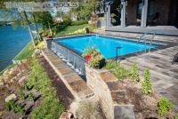 Infinity Pool Design - Thursday Pools - Fiberglass Pool ...