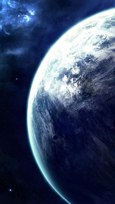 Spectacular Outer Space Planet View #iPhone #5s #wallpaper | iPhone SE Wallpapers | Pinterest ...