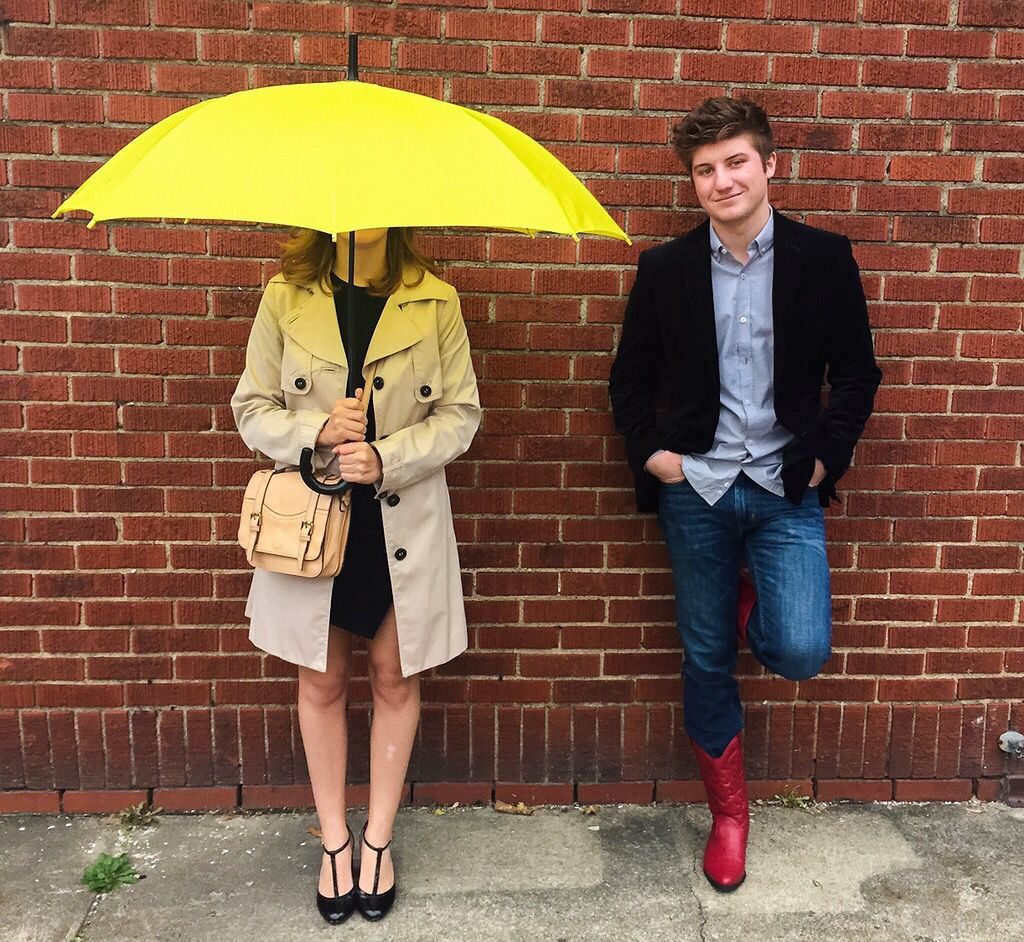 Diy How I Met Your Mother Ted And Tracy Halloween Costumes