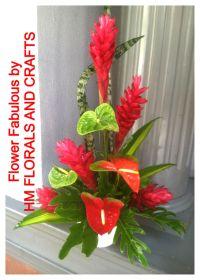 Red Ginger Flower Arrangements | www.pixshark.com - Images ...