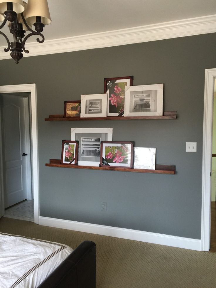 Gallery Wall for a Long Hallway Photo ledge, Long hallway and - how to decorate a long wall in living room