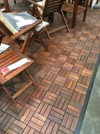 IKEA outdoor floor | Patio on the Cheap | Pinterest | Ikea ...