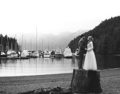 Big trees stumps. Water. Boats. Wedding. :) Sounds like a good day to me!   Weddings   Pinterest ...