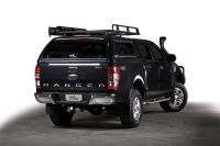 Ford Ranger with Canopy & Ironman 4x4 Roof Rack. http ...