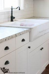 Fixer Upper Update: Cabinet Hardware | White cabinets ...