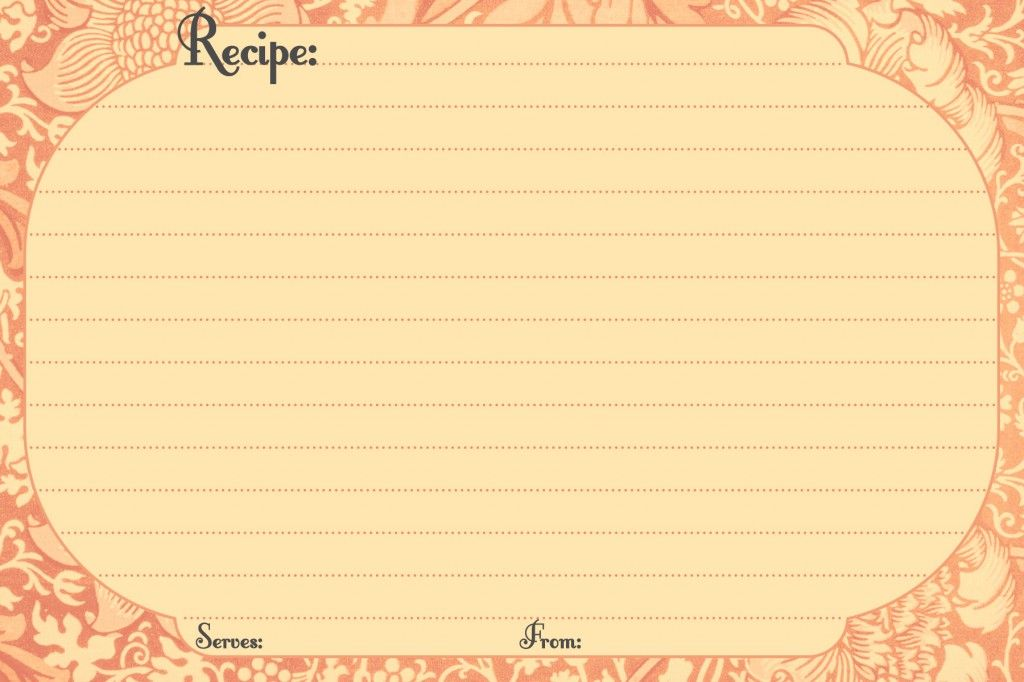 Ingredients 2 cups of (Martha White) Self-Rising Flour ¼ cup of - free recipe card templates for microsoft word
