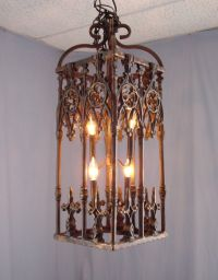 Rustic Chandelier From Wrought Iron | Rustic Chandeliers ...