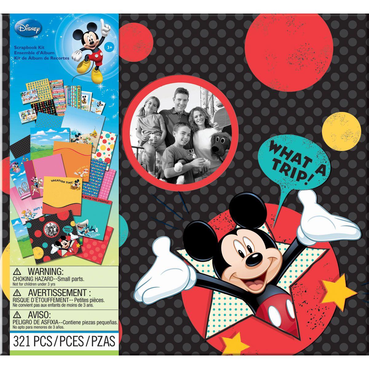 Disney vacation scrapbook kit 12 x12 by jolee s boutique