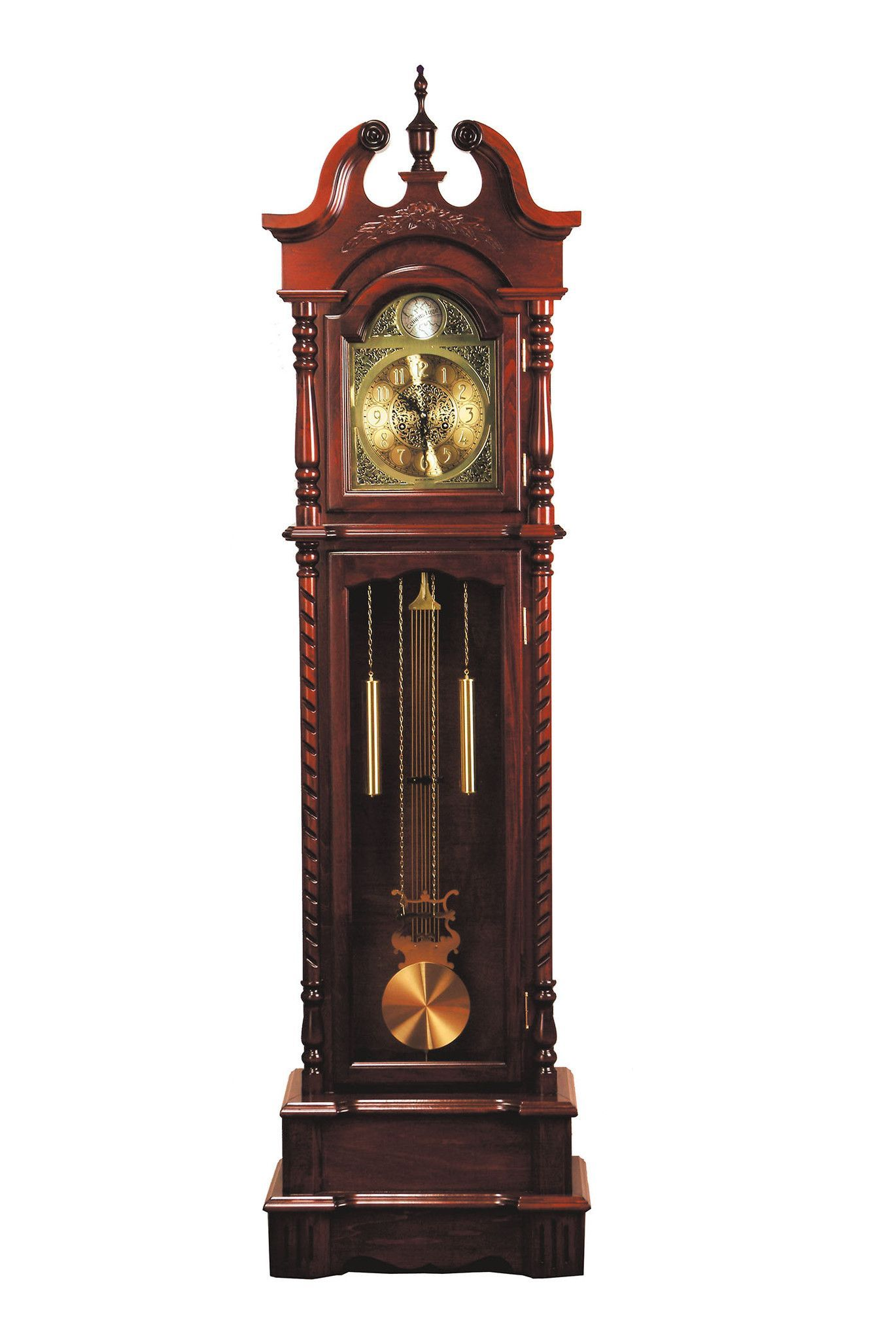 Cool Cuckoo Clocks Dark Walnut Grandfather Clock 01431 Grandfather Clock