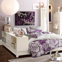 10 Cool Purple Themed Teen Rooms | Bookcase storage ...