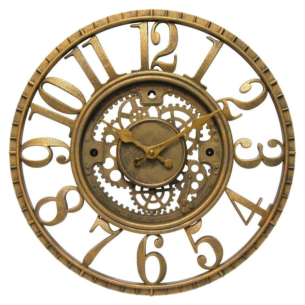 Statement Wall Clocks Steampunk Clock Fun And Fashionable Home Accessories And