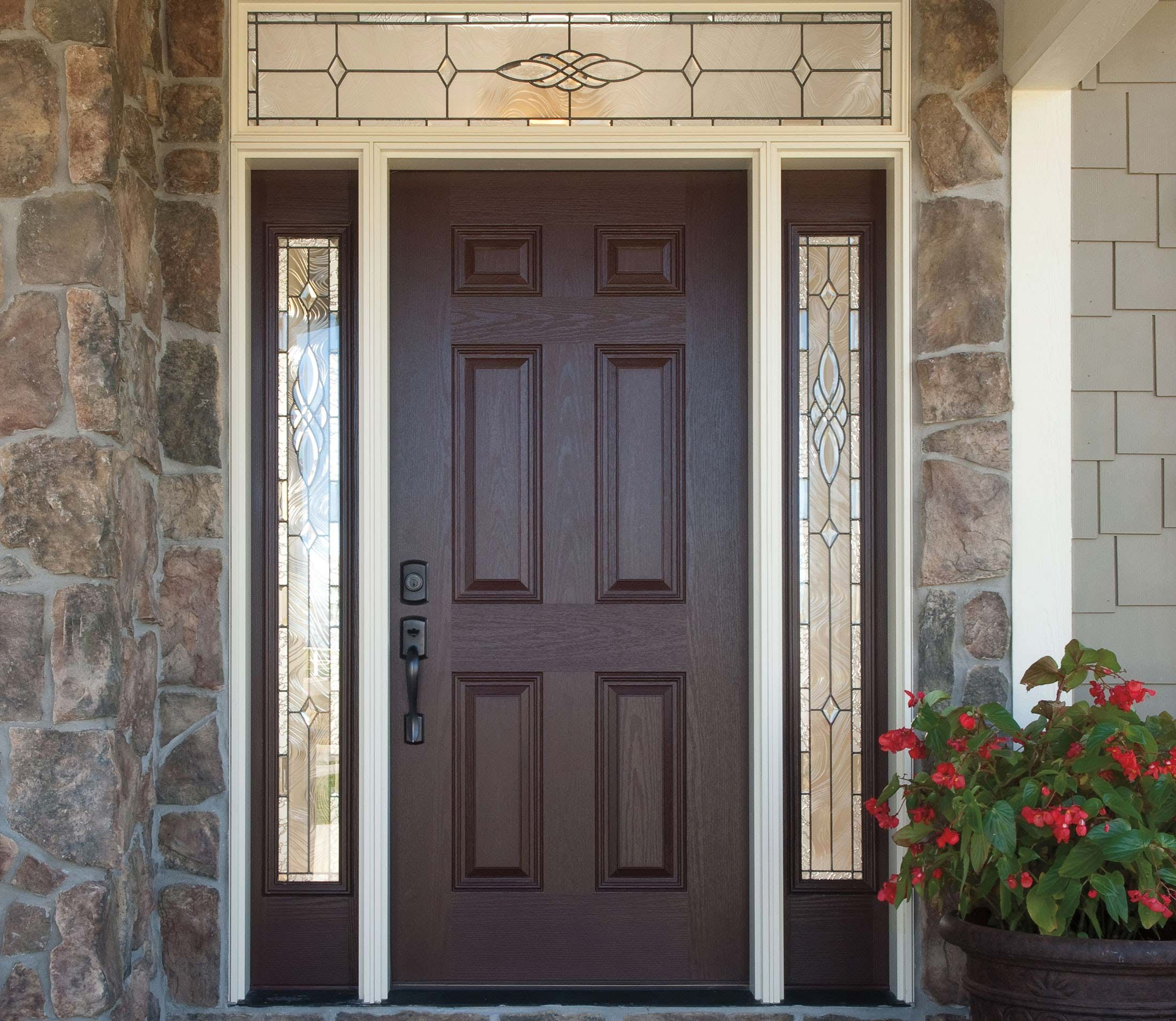 Emejing double door exterior gallery mercier portes et for Porte et fenetre laflamme