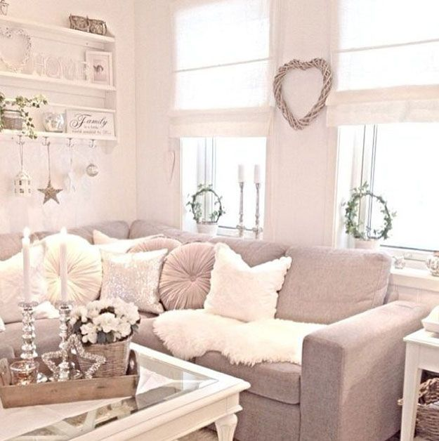 Shabby Chic Decor Ideas Shabby chic living room, Chic living - country chic living room