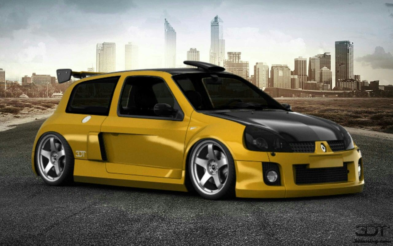 Clio V6 3d Tuning Renault Clio V6 Race Car 3d Tuning Pinterest
