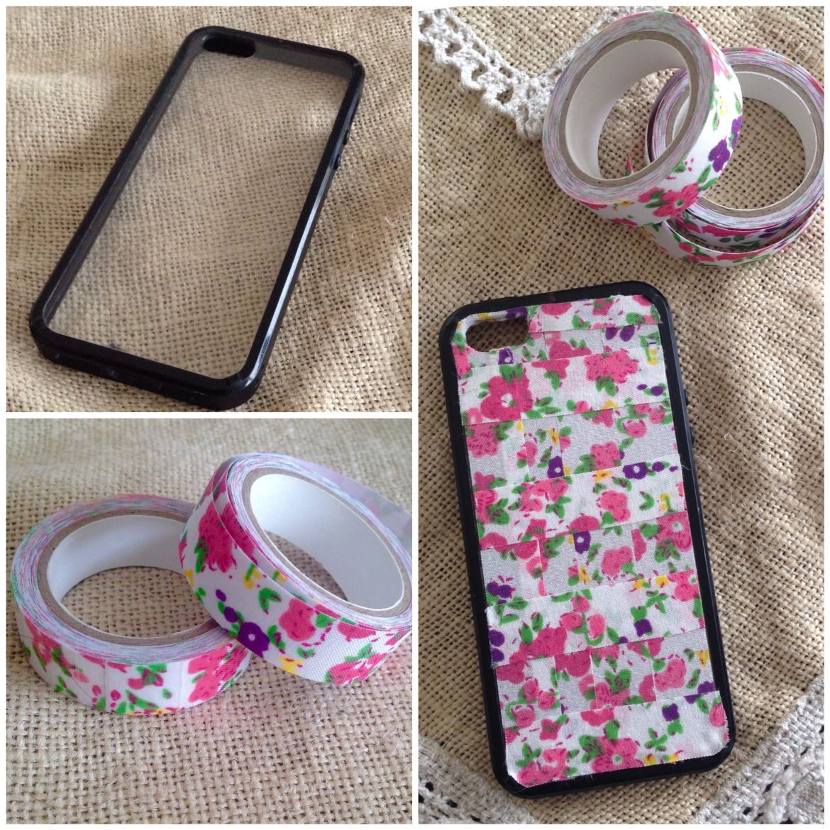 Decorar Fundas De Movil Ideas Con Washitape Carcasa De Celular Personalizada Con